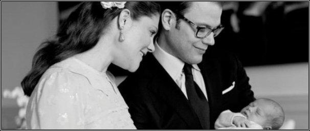 Kroonprinsesselijk gezin Zweden - 2012