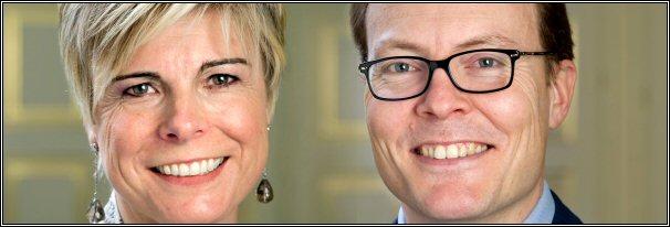 Prins Constantijn en Prinses Laurentien der Nederlanden - 2012
