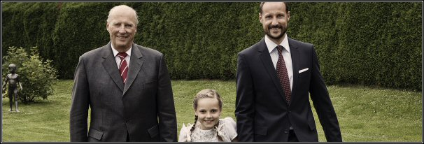 3 generaties foto Noorwegen