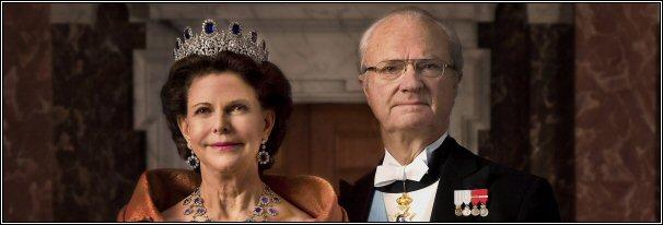Koning Carl Gustav en Koningin Silvia van Zweden - 2013