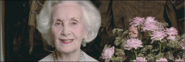 Princess Lilian of Sweden on her 90th birthday