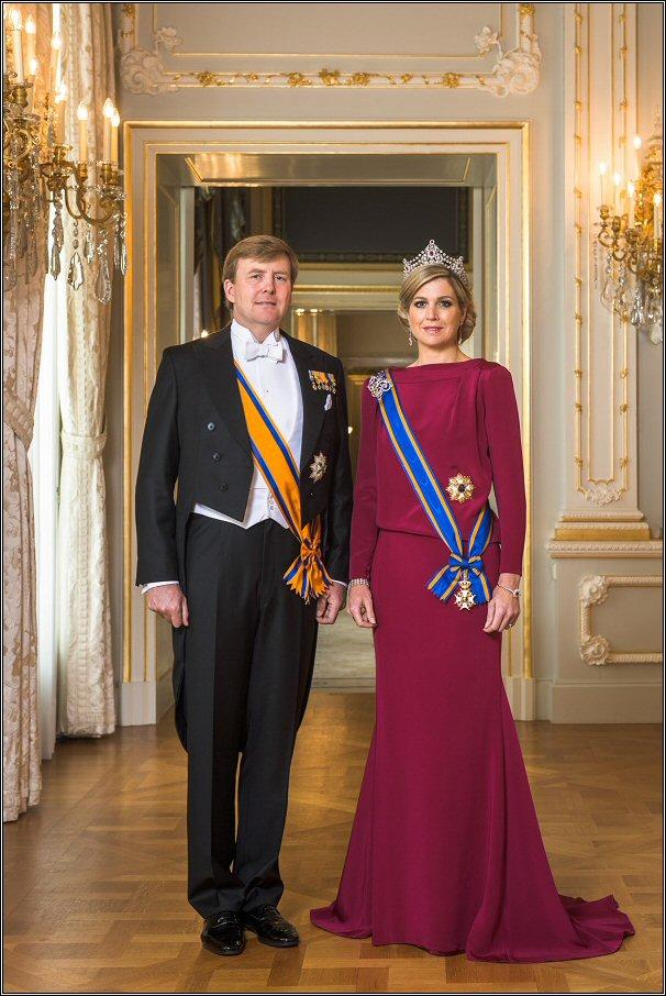 Koning Willem-Alexander en Koningin Máxima - april 2013